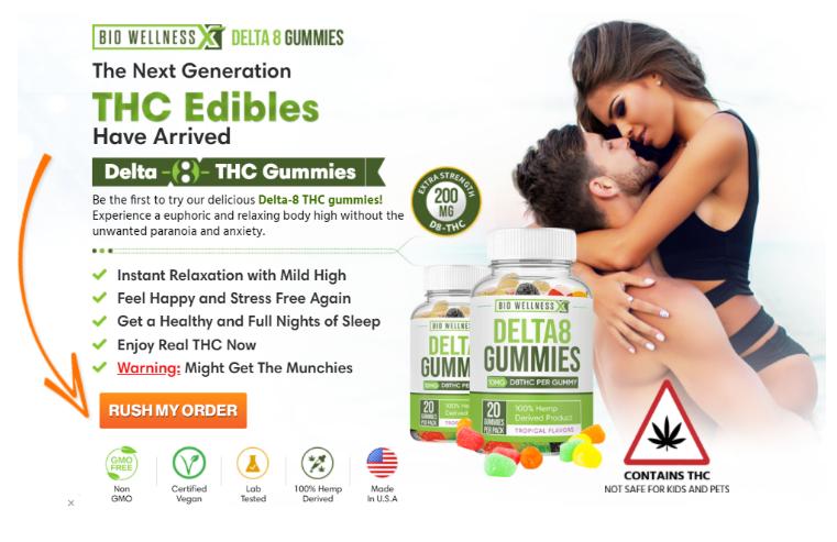 Delta 8 CBD Gummies