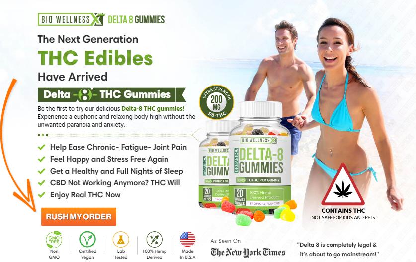 Bio Wellness Delta 8 Gummies